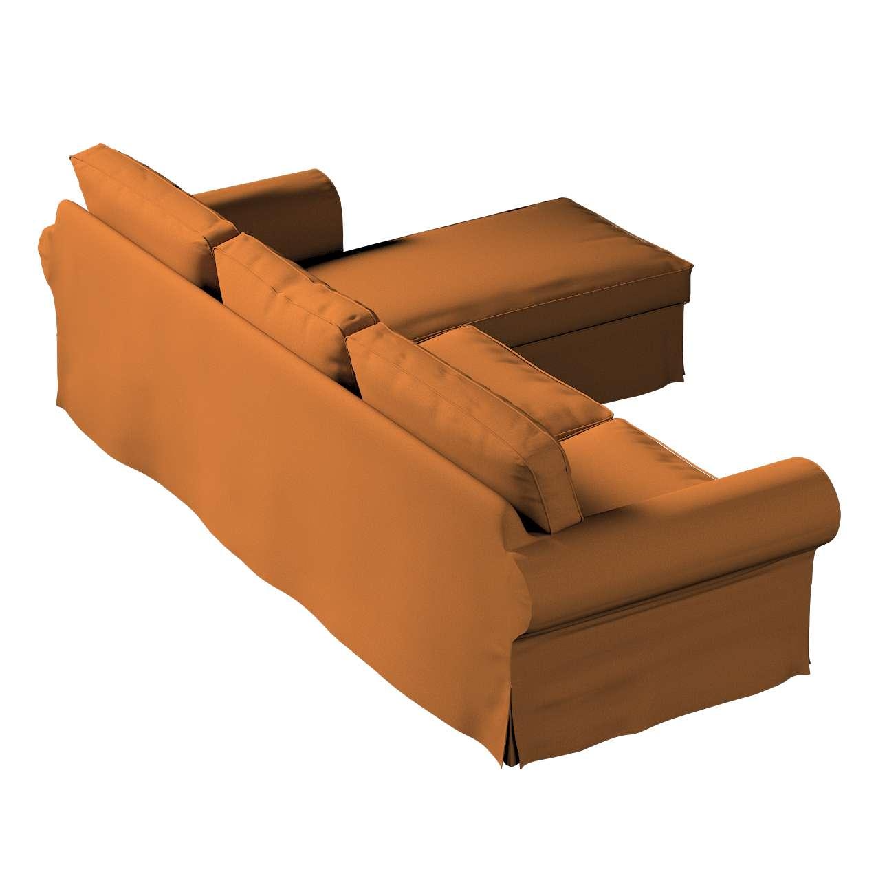 Pokrowiec na sofę Ektorp 2-osobową i leżankę w kolekcji Living II, tkanina: 161-28