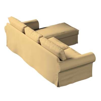 Pokrowiec na sofę Ektorp 2-osobową i leżankę w kolekcji Living, tkanina: 161-50