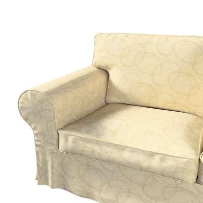Pokrowiec na sofę Ektorp 2-osobową i leżankę w kolekcji Living, tkanina: 161-81