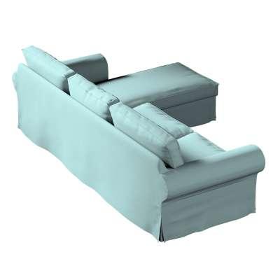 Bezug für Ektorp 2-Sitzer Sofa mit Recamiere von der Kollektion Cotton Panama, Stoff: 702-40