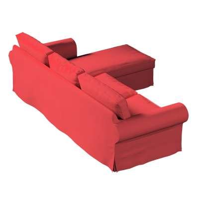 Pokrowiec na sofę Ektorp 2-osobową i leżankę w kolekcji Living, tkanina: 161-56