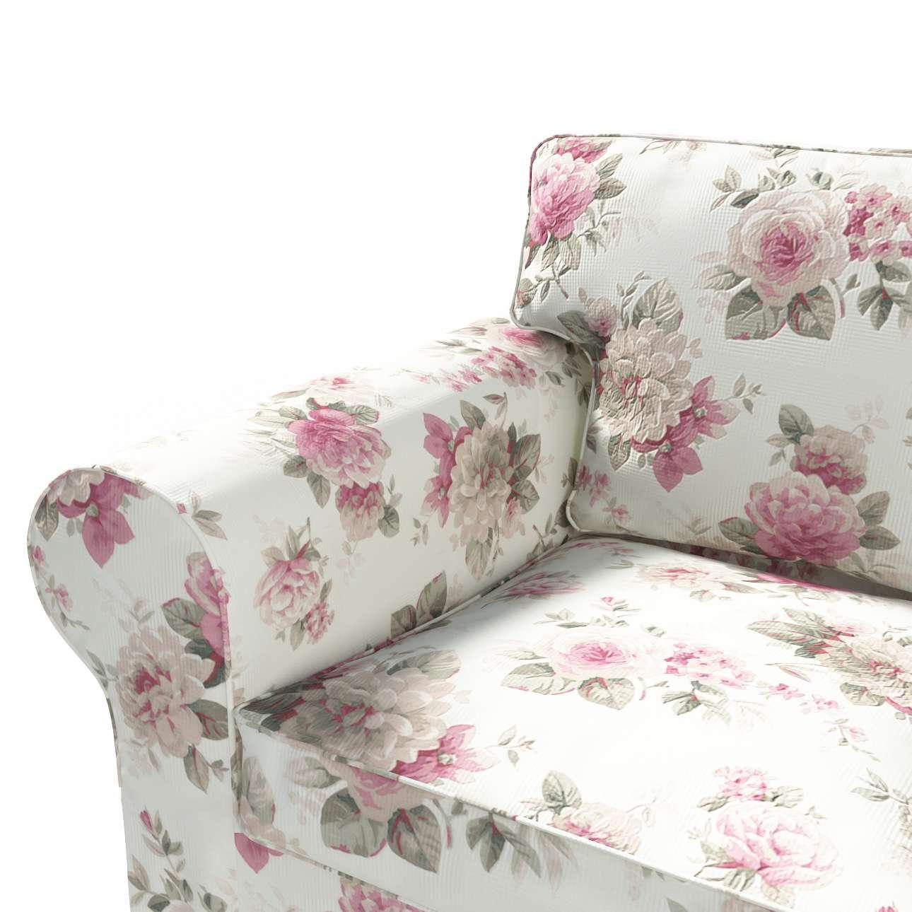 Ektorp 2 sæder sovesofa fra 2012<br/>Bredde ca 200cm Betræk uden sofa fra kollektionen Mirella, Stof: 141-07