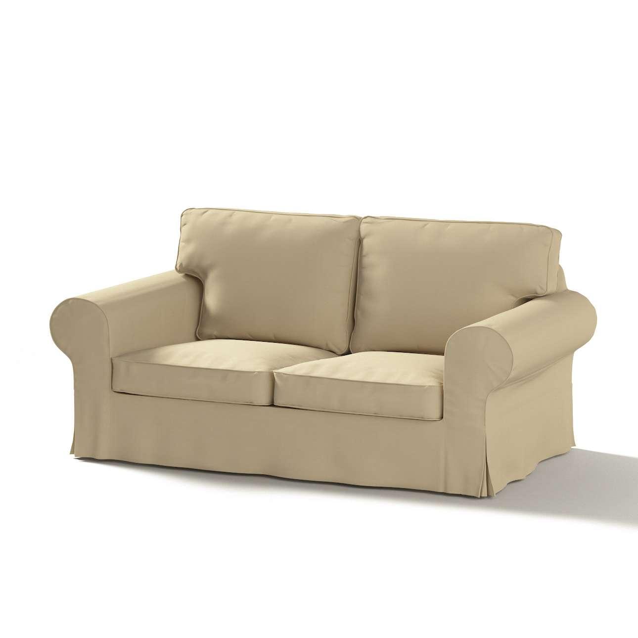 Pokrowiec na sofę Ektorp 2-osobową rozkładaną, model po 2012 w kolekcji Cotton Panama, tkanina: 702-01