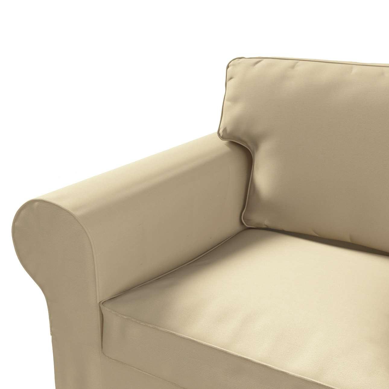 Pokrowiec na sofę Ektorp 2-osobową rozkładana NOWY MODEL 2012 sofa ektorp 2-osobowa rozkładana NOWY MODEL w kolekcji Cotton Panama, tkanina: 702-01