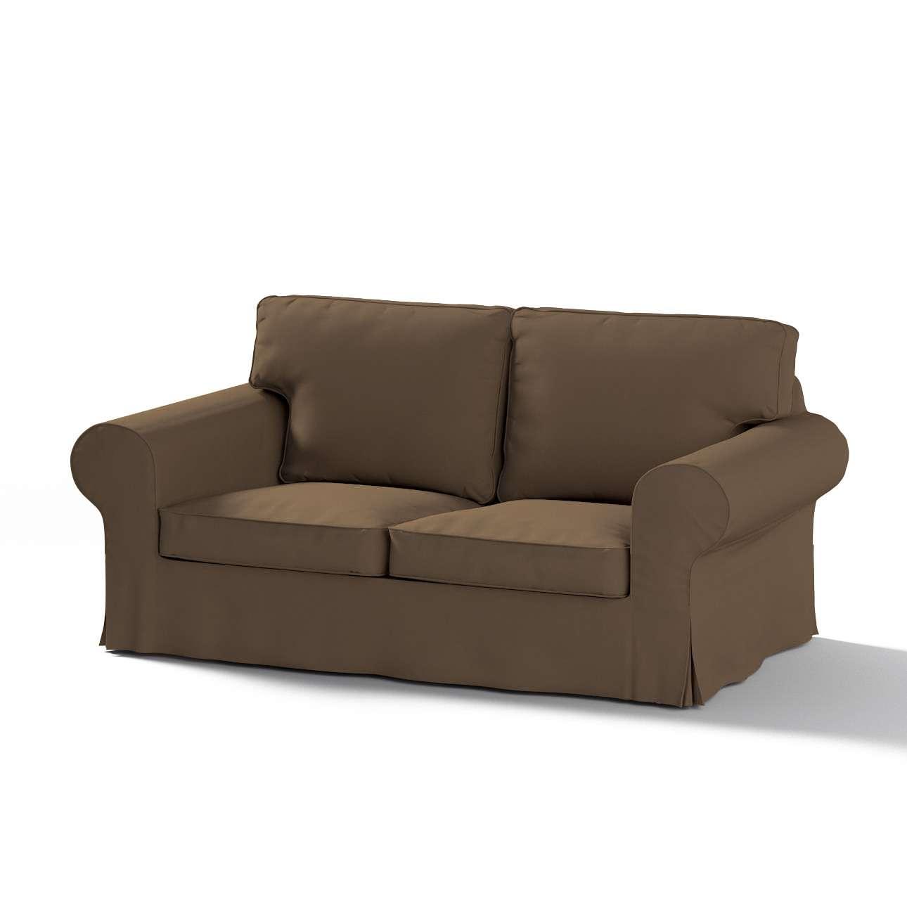 Pokrowiec na sofę Ektorp 2-osobową rozkładaną, model po 2012 w kolekcji Cotton Panama, tkanina: 702-02