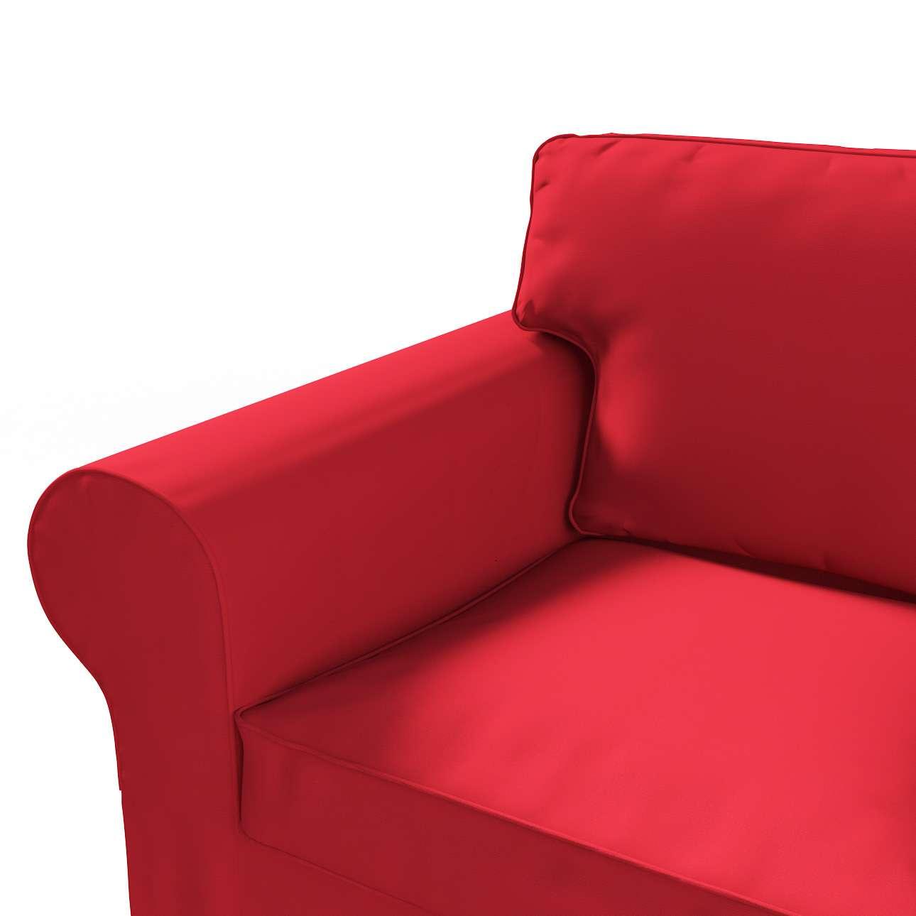 Pokrowiec na sofę Ektorp 2-osobową rozkładana NOWY MODEL 2012 sofa ektorp 2-osobowa rozkładana NOWY MODEL w kolekcji Cotton Panama, tkanina: 702-04