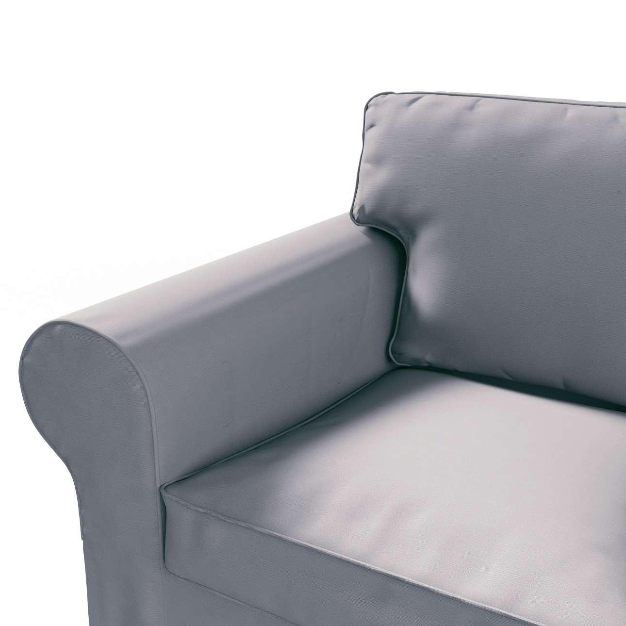 Pokrowiec na sofę Ektorp 2-osobową rozkładana NOWY MODEL 2012 sofa ektorp 2-osobowa rozkładana NOWY MODEL w kolekcji Cotton Panama, tkanina: 702-07