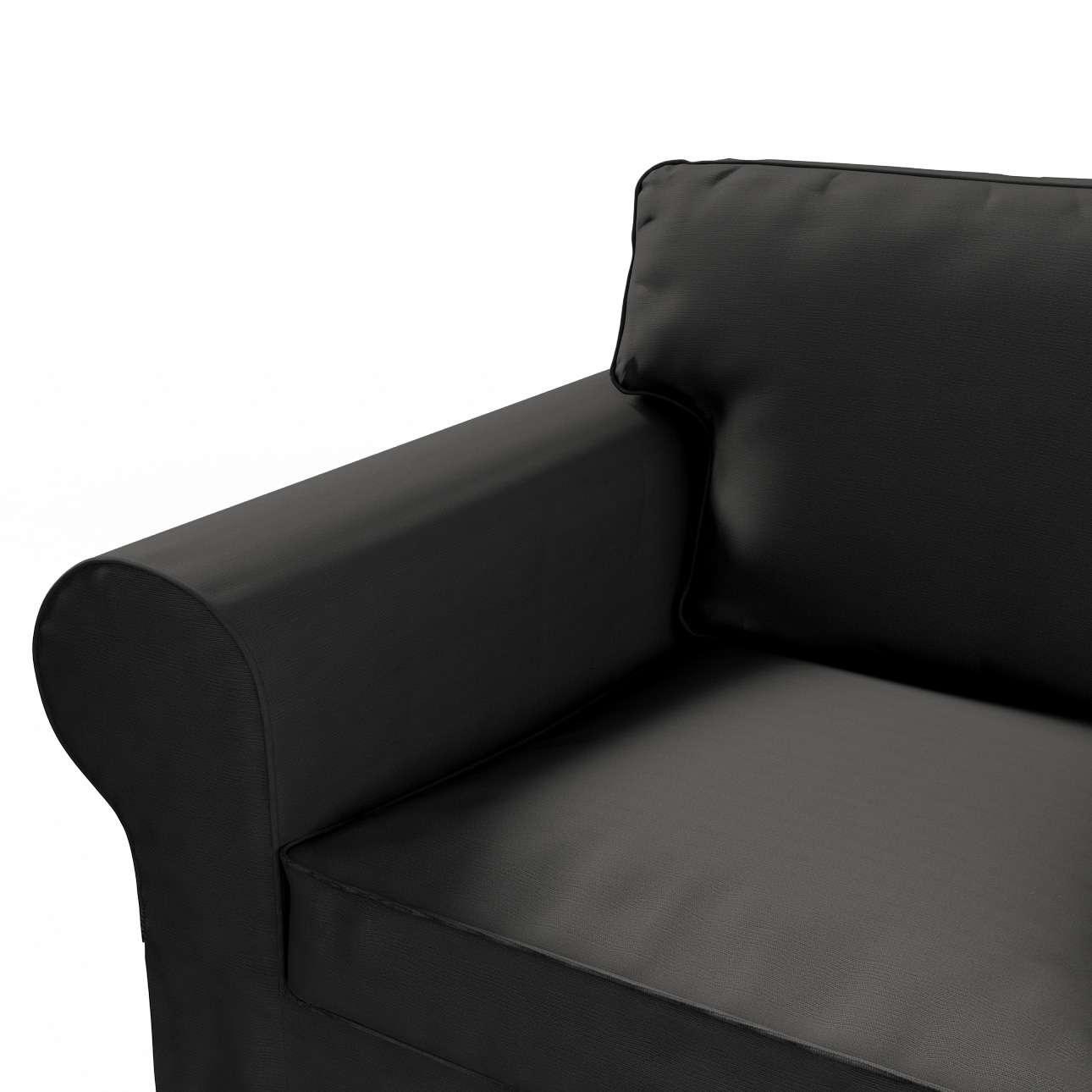 Ektorp betræk 2 sæder sovesofa<br/>fra 2012<br/>Bredde ca 200cm fra kollektionen Cotton Panama, Stof: 702-08