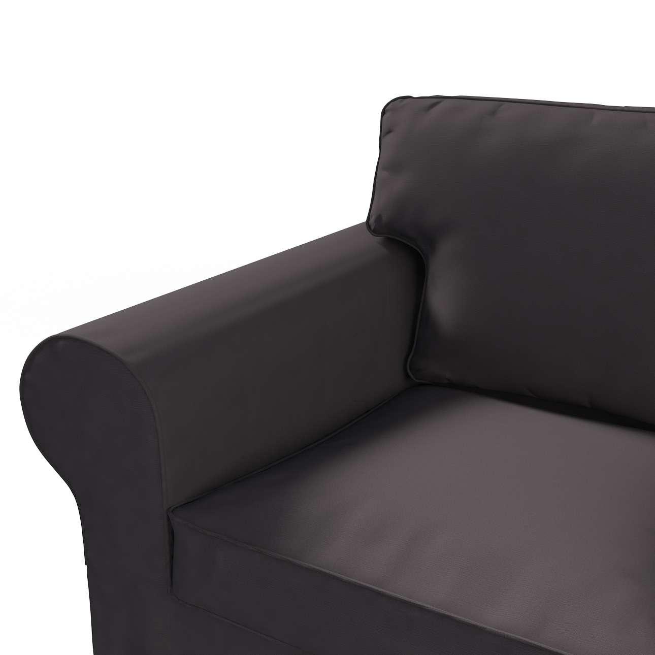 Pokrowiec na sofę Ektorp 2-osobową rozkładana NOWY MODEL 2012 sofa ektorp 2-osobowa rozkładana NOWY MODEL w kolekcji Cotton Panama, tkanina: 702-09