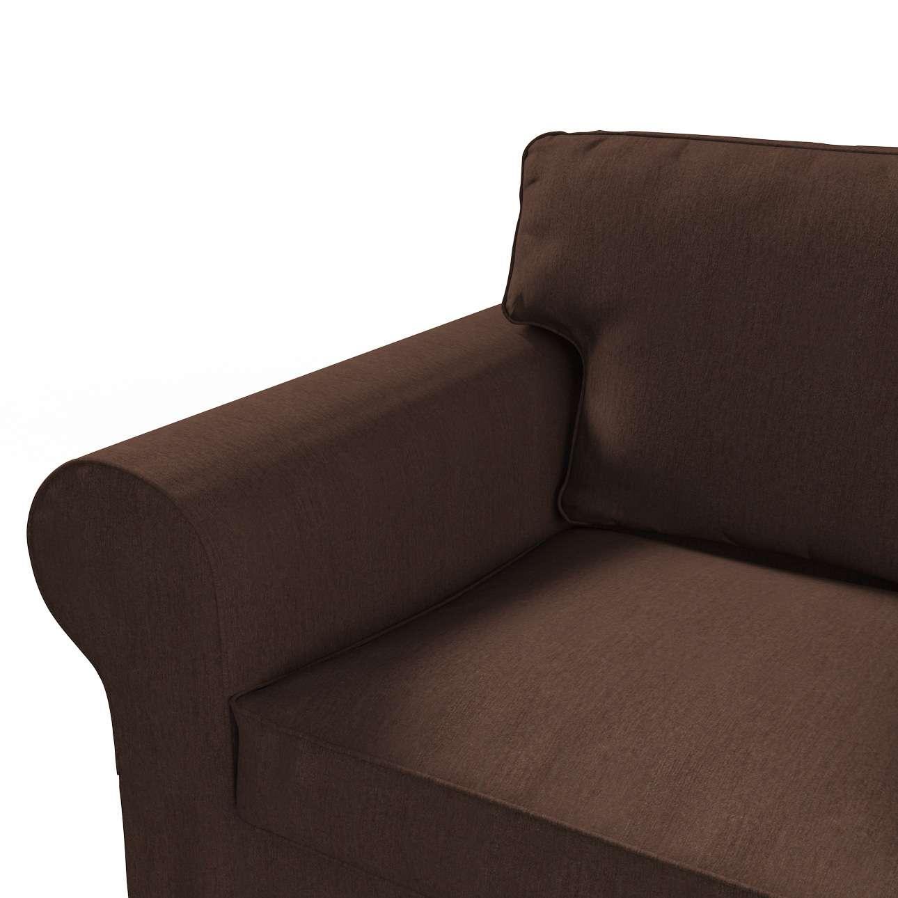 Pokrowiec na sofę Ektorp 2-osobową rozkładaną, model po 2012 w kolekcji Chenille, tkanina: 702-18