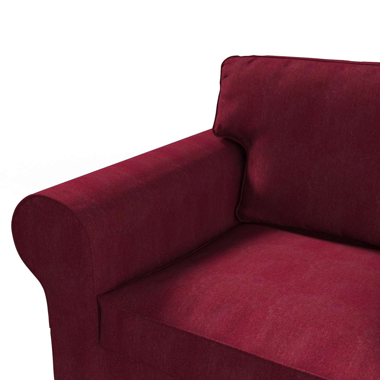 Pokrowiec na sofę Ektorp 2-osobową rozkładaną, model po 2012 w kolekcji Chenille, tkanina: 702-19