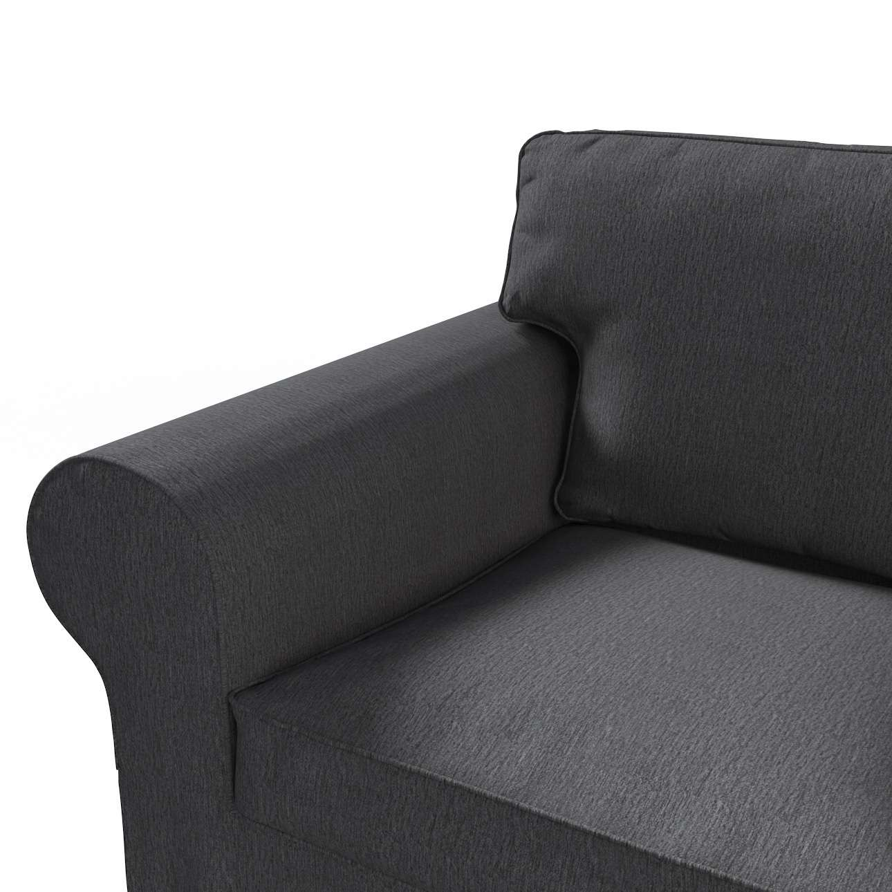 Pokrowiec na sofę Ektorp 2-osobową rozkładana NOWY MODEL 2012 w kolekcji Chenille, tkanina: 702-20