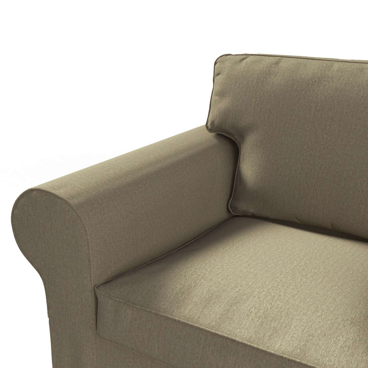 Pokrowiec na sofę Ektorp 2-osobową rozkładana NOWY MODEL 2012 w kolekcji Chenille, tkanina: 702-21