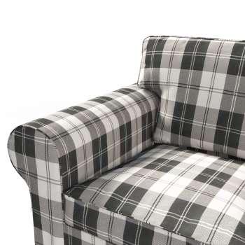 Ektorp 2 sæder sovesofa fra 2012<br/>Bredde ca 200cm Betræk uden sofa fra kollektionen Edinburgh, Stof: 115-74