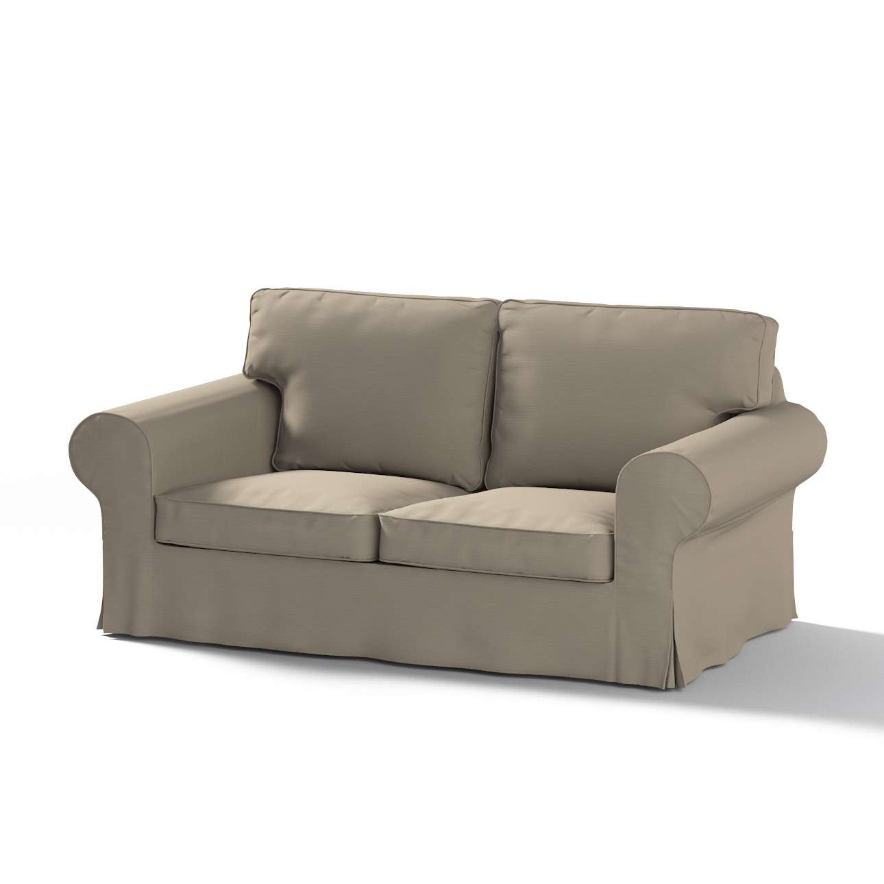 Pokrowiec na sofę Ektorp 2-osobową rozkładaną, model po 2012 w kolekcji Cotton Panama, tkanina: 702-28