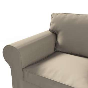 Ektorp 2 sæder sovesofa fra 2012<br/>Bredde ca 200cm Betræk uden sofa fra kollektionen Cotton Panama, Stof: 702-28