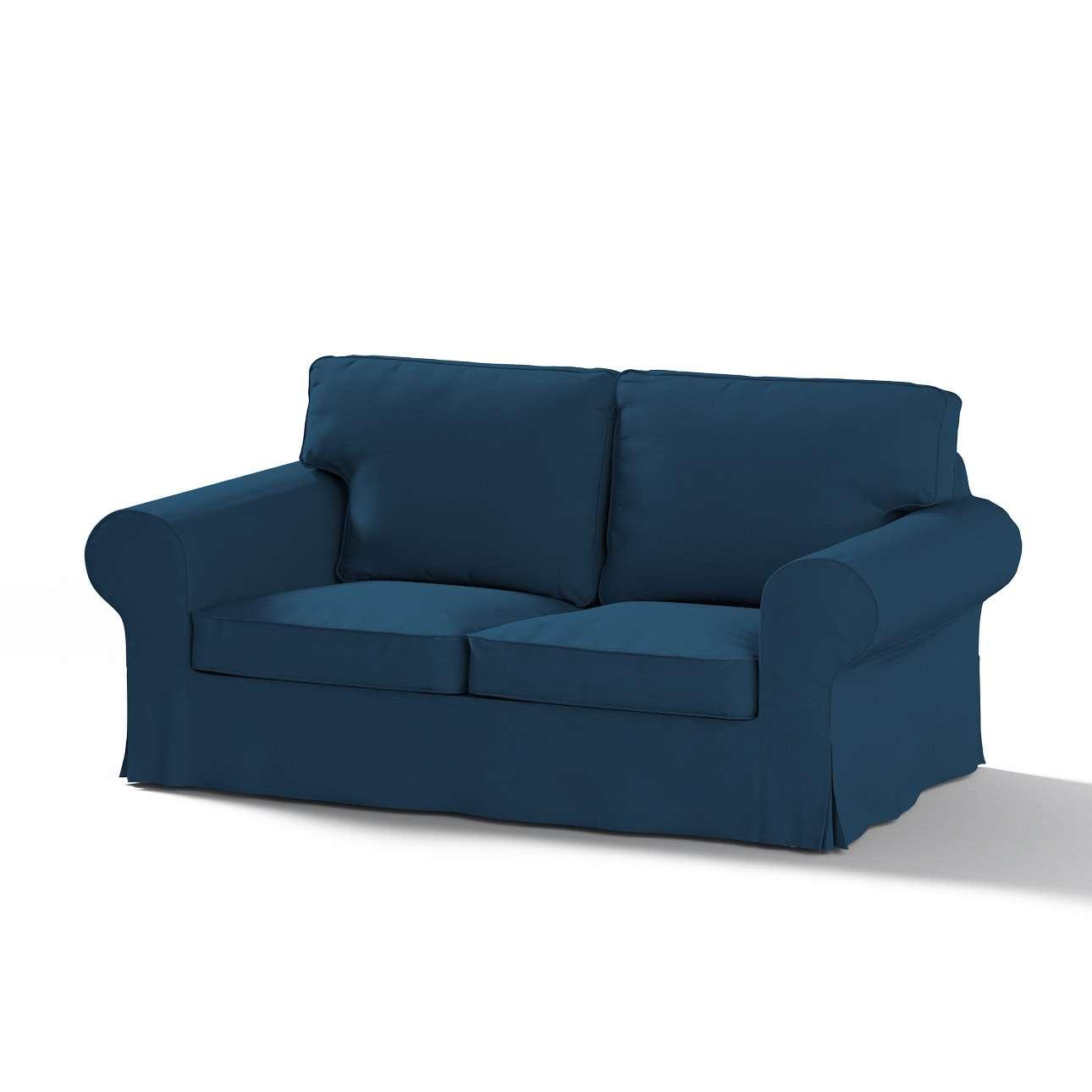 Pokrowiec na sofę Ektorp 2-osobową rozkładaną, model po 2012 w kolekcji Cotton Panama, tkanina: 702-30