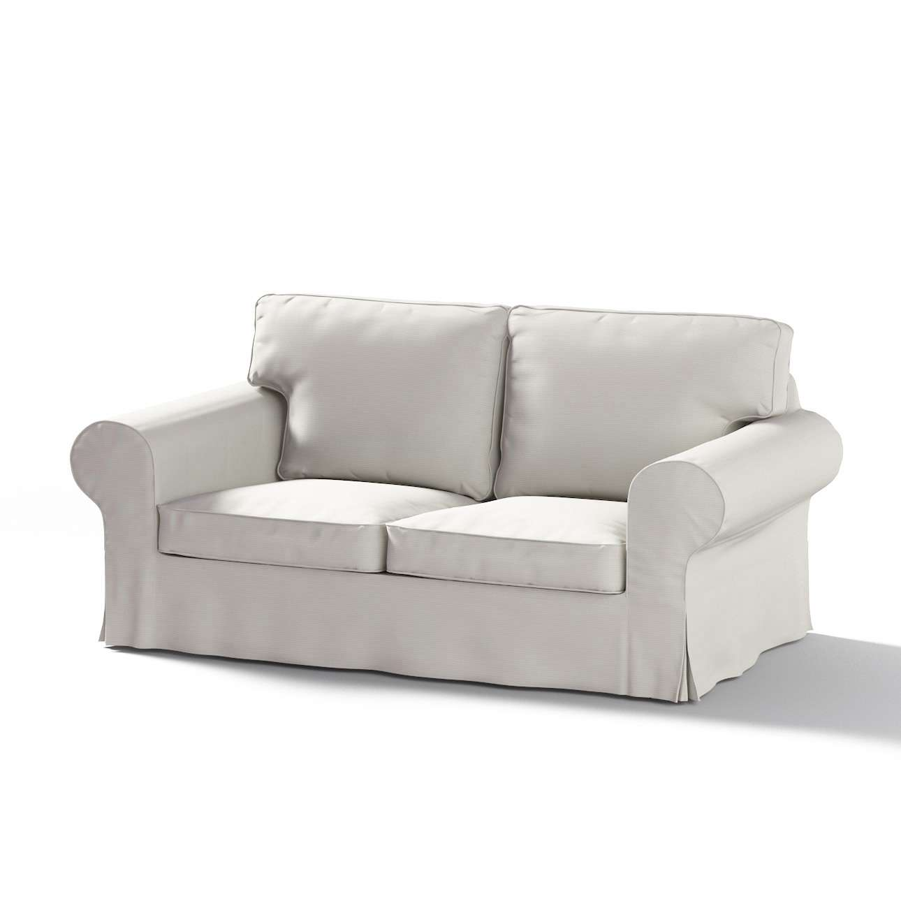 Pokrowiec na sofę Ektorp 2-osobową rozkładana NOWY MODEL 2012 w kolekcji Cotton Panama, tkanina: 702-31