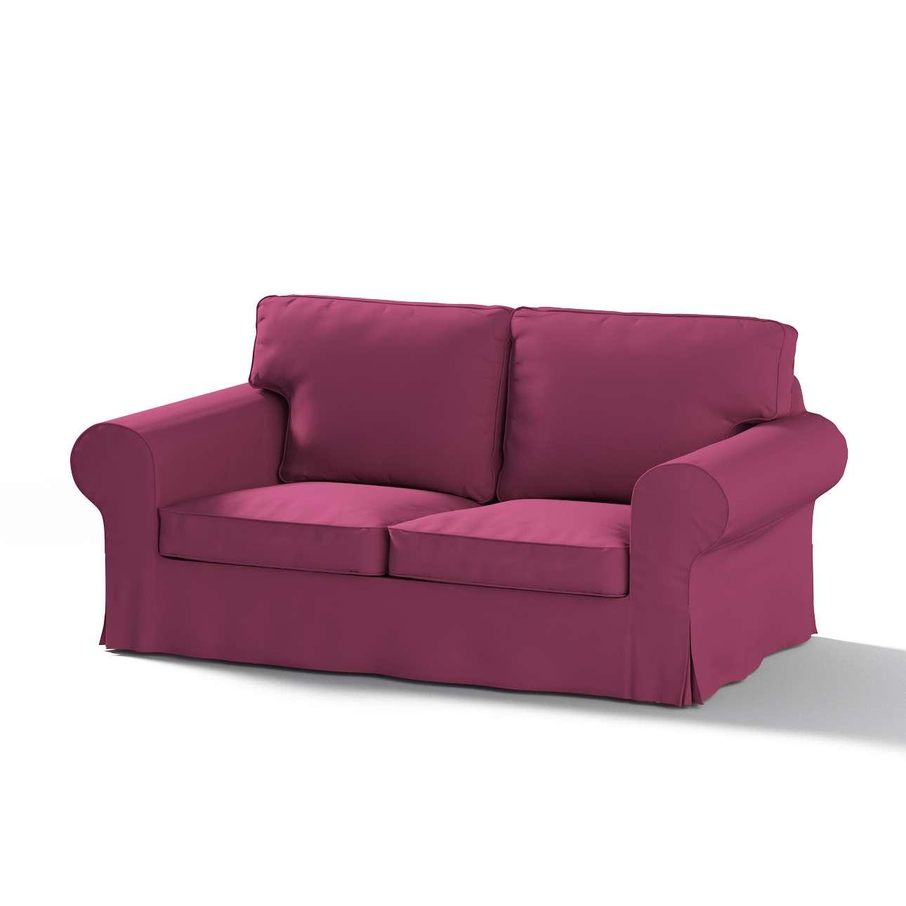 Pokrowiec na sofę Ektorp 2-osobową rozkładaną, model po 2012 w kolekcji Cotton Panama, tkanina: 702-32