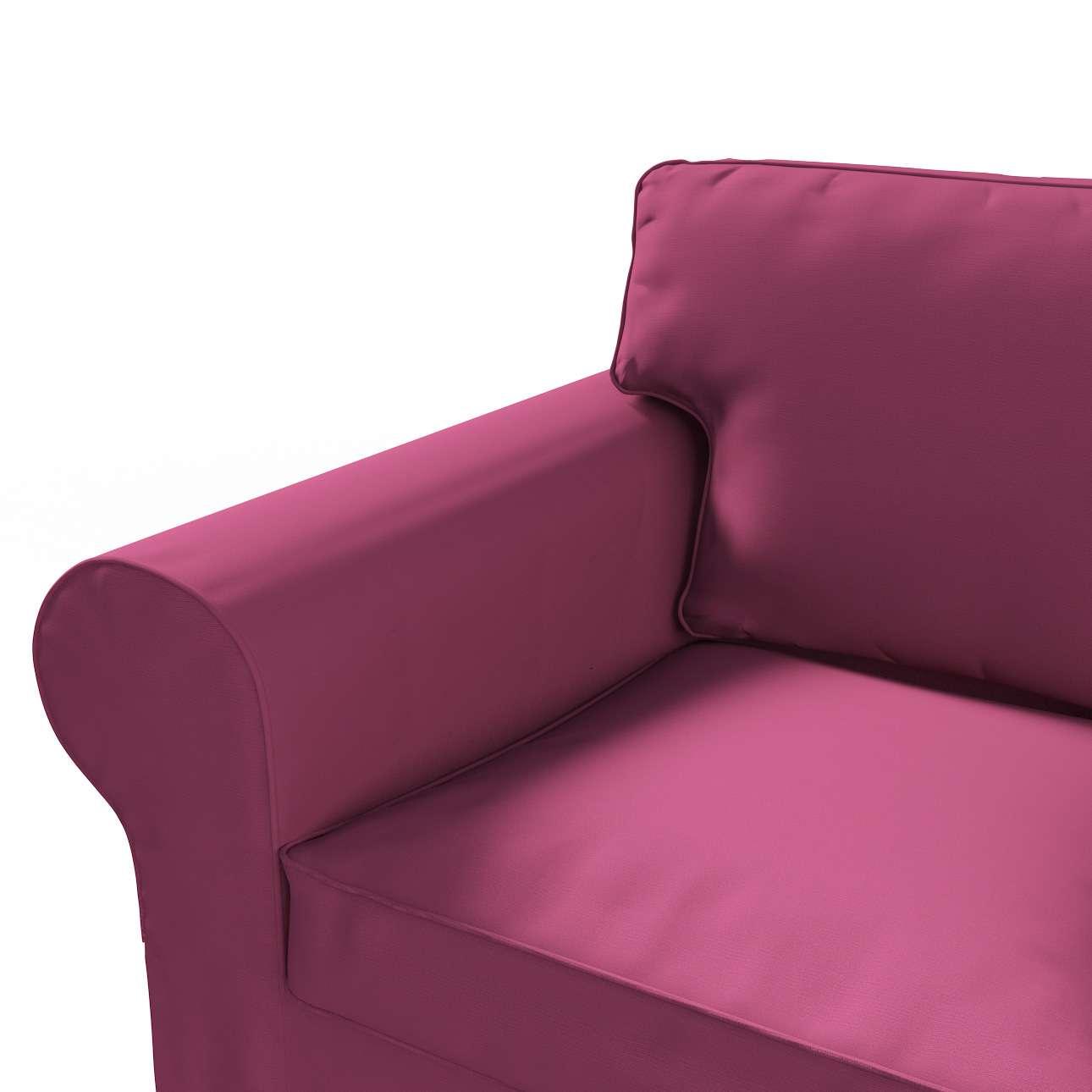 Pokrowiec na sofę Ektorp 2-osobową rozkładana NOWY MODEL 2012 sofa ektorp 2-osobowa rozkładana NOWY MODEL w kolekcji Cotton Panama, tkanina: 702-32