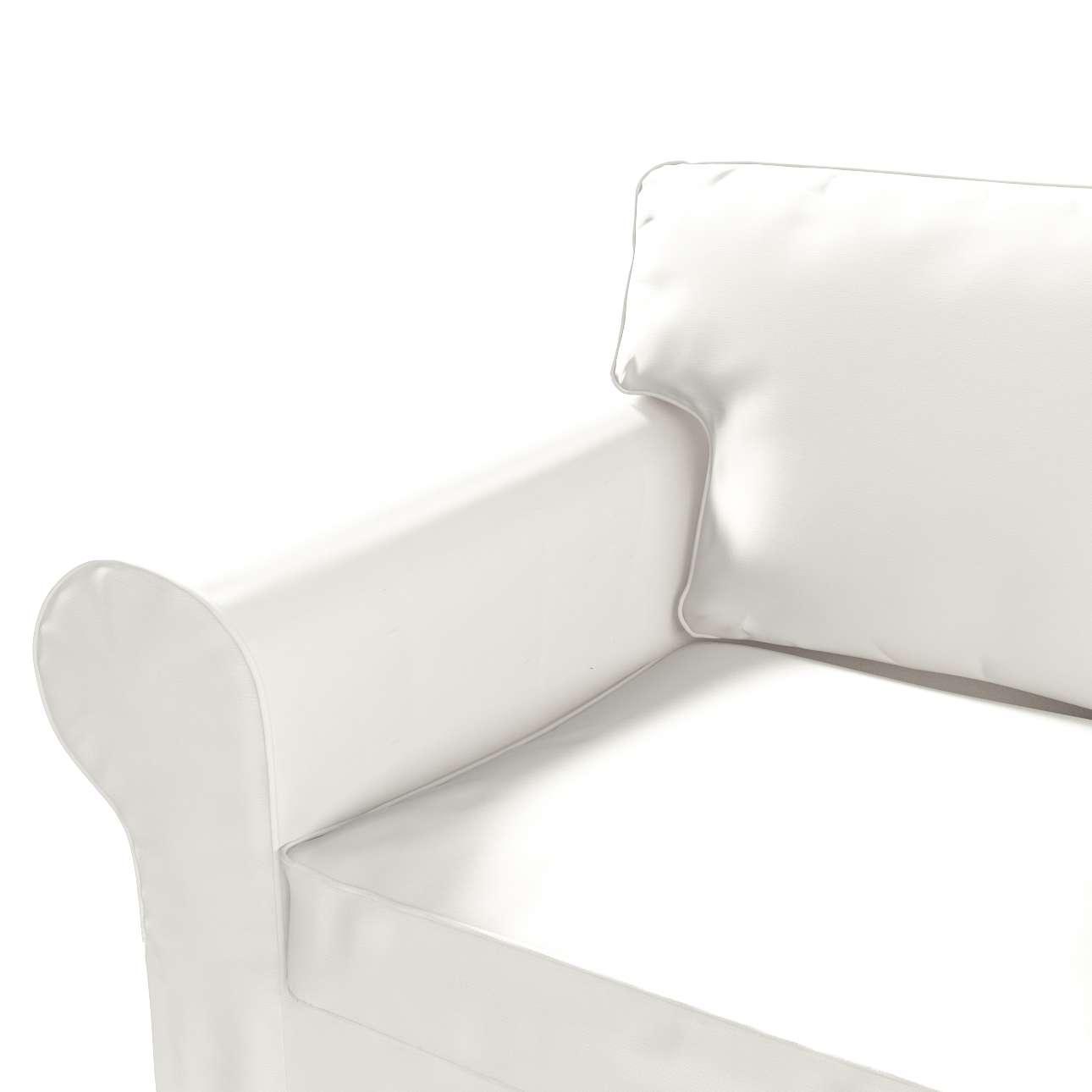 Ektorp 2 sæder sovesofa fra 2012<br/>Bredde ca 200cm Betræk uden sofa fra kollektionen Cotton Panama, Stof: 702-34