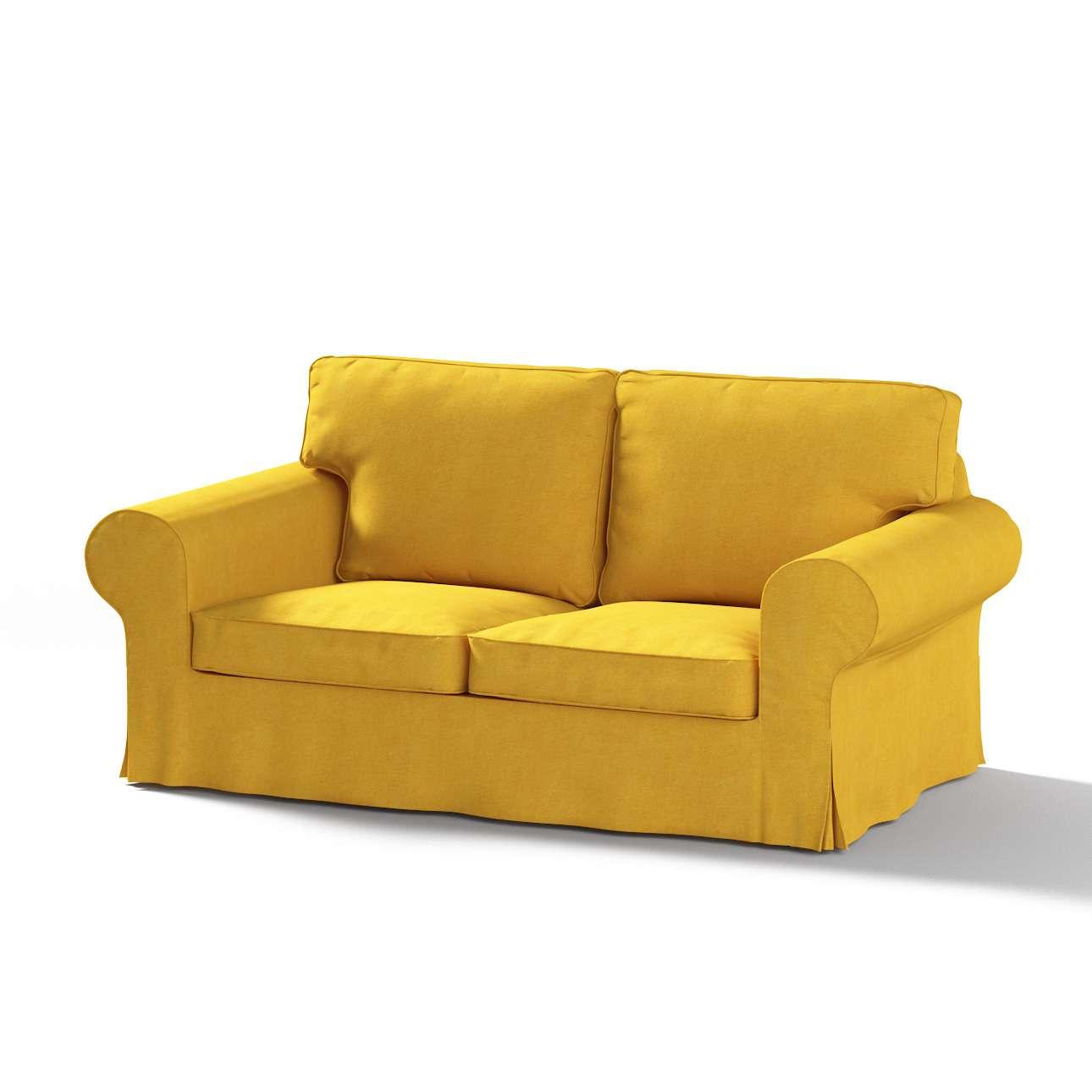 Ektorp 2-Sitzer Schlafsofabezug  NEUES Modell, senffarbe, Sofabezug für  Ektorp 2-Sitzer ausklappbar, neues Modell, Etna | Heimtextilien > Hussen und Überwürfe | Glanz | Stoff | Dekoria