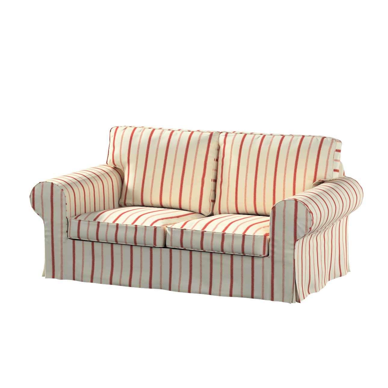 Pokrowiec na sofę Ektorp 2-osobową rozkładana NOWY MODEL 2012 sofa ektorp 2-osobowa rozkładana NOWY MODEL w kolekcji Avinon, tkanina: 129-15
