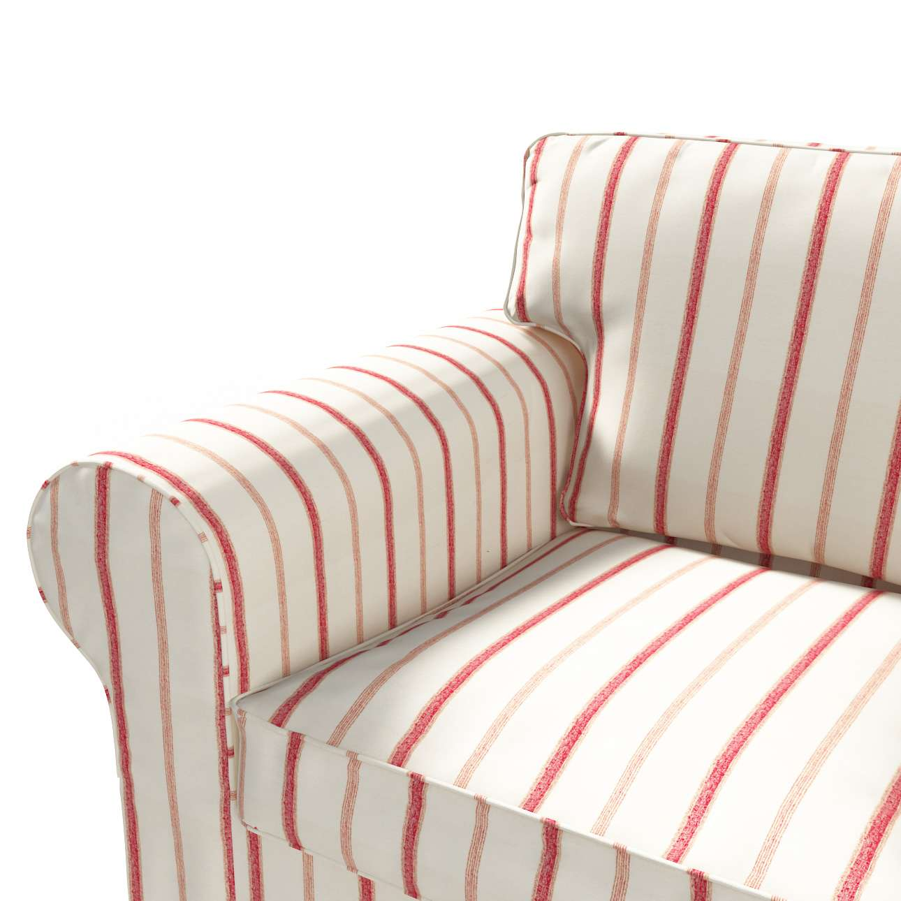 Ektorp 2 sæder sovesofa fra 2012<br/>Bredde ca 200cm fra kollektionen Avinon, Stof: 129-15