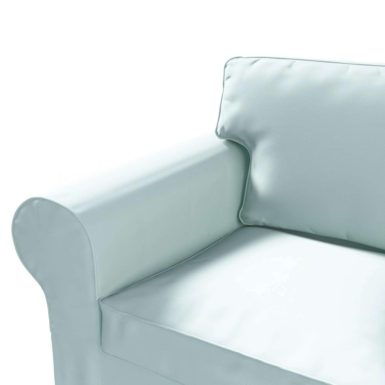 Ektorp 2 sæder sovesofa fra 2012<br/>Bredde ca 200cm Betræk uden sofa fra kollektionen Cotton Panama, Stof: 702-10