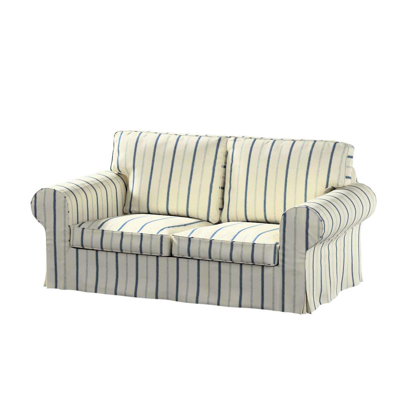 Pokrowiec na sofę Ektorp 2-osobową rozkładaną, model po 2012 w kolekcji Avinon, tkanina: 129-66