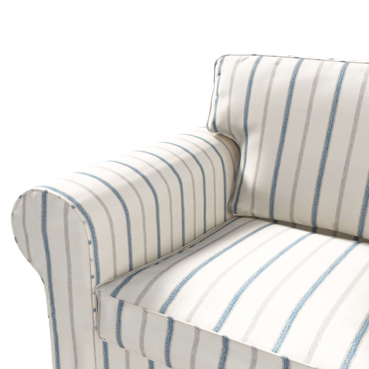 Ektorp dvivietės sofos su lova užvalkalas (naujas modelis nuo 2012 m) Ektorp dvivietės sofos-lovos užvalkalas (modelis nuo 2012 m) kolekcijoje Avinon, audinys: 129-66