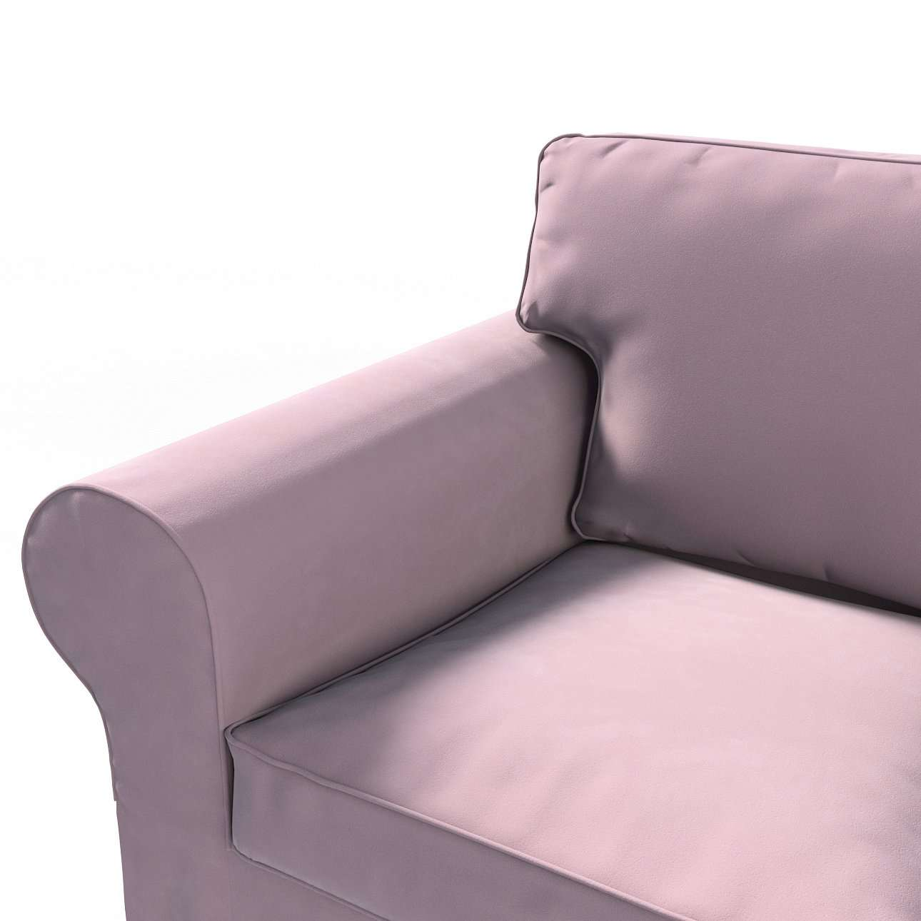 Bezug für Ektorp 2-Sitzer Schlafsofa NEUES Modell von der Kollektion Velvet, Stoff: 704-14