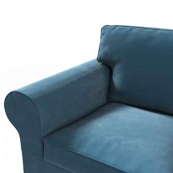 Pokrowiec na sofę Ektorp 2-osobową rozkładaną, model po 2012 w kolekcji Velvet, tkanina: 704-16