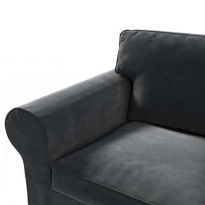 Ektorp trekk 2 seter sovesofa fra 2012<br/>Smal rygg 704-17 Sort Kolleksjon Velvet