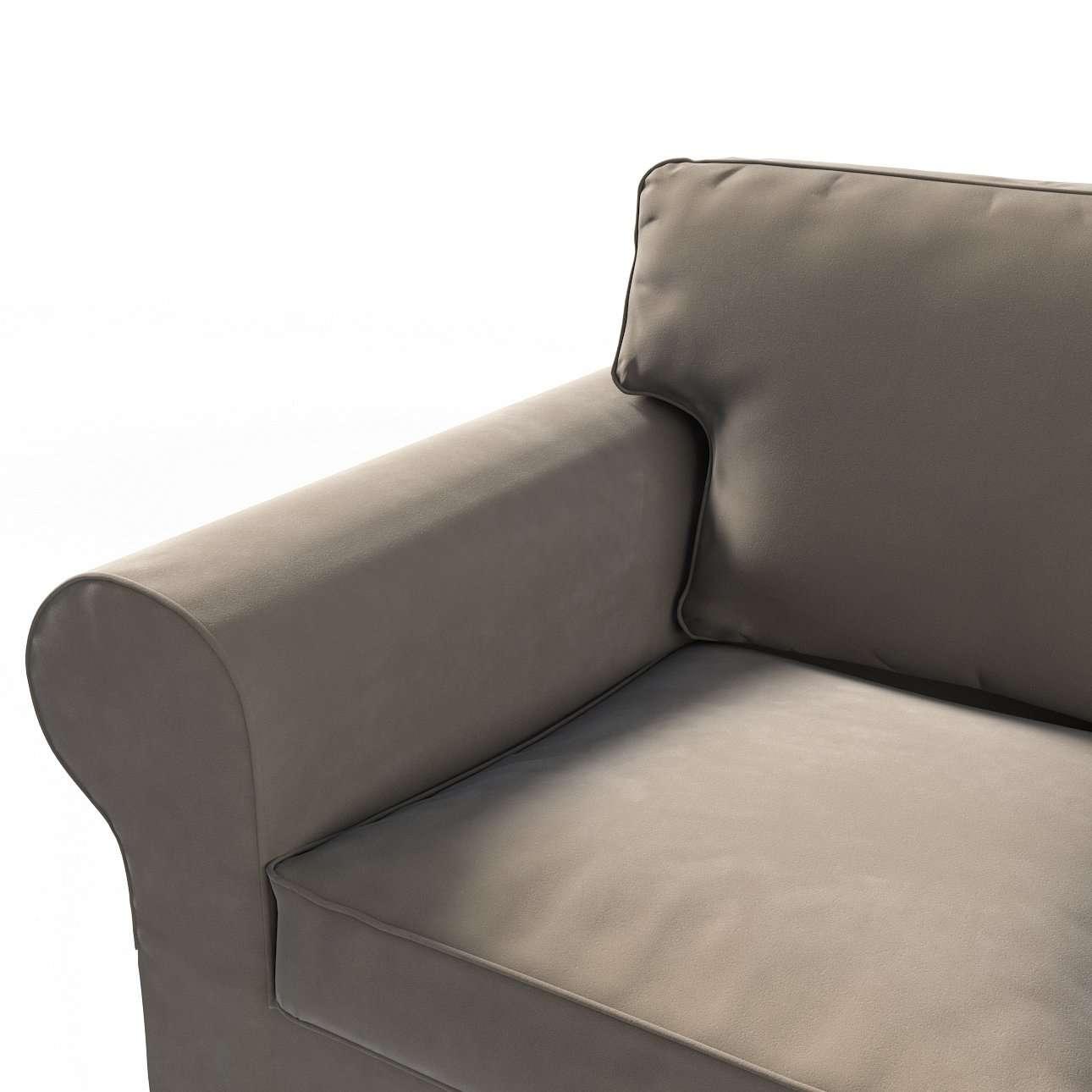 Pokrowiec na sofę Ektorp 2-osobową rozkładaną, model po 2012 w kolekcji Velvet, tkanina: 704-19