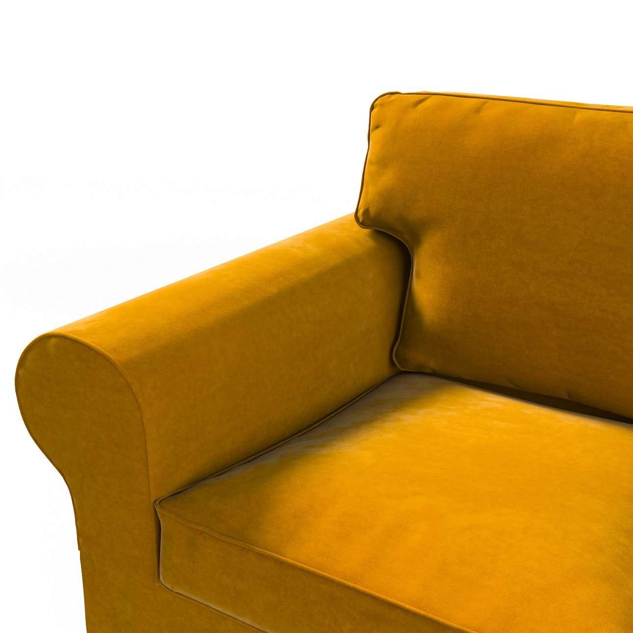 Pokrowiec na sofę Ektorp 2-osobową rozkładaną, model po 2012 w kolekcji Velvet, tkanina: 704-23