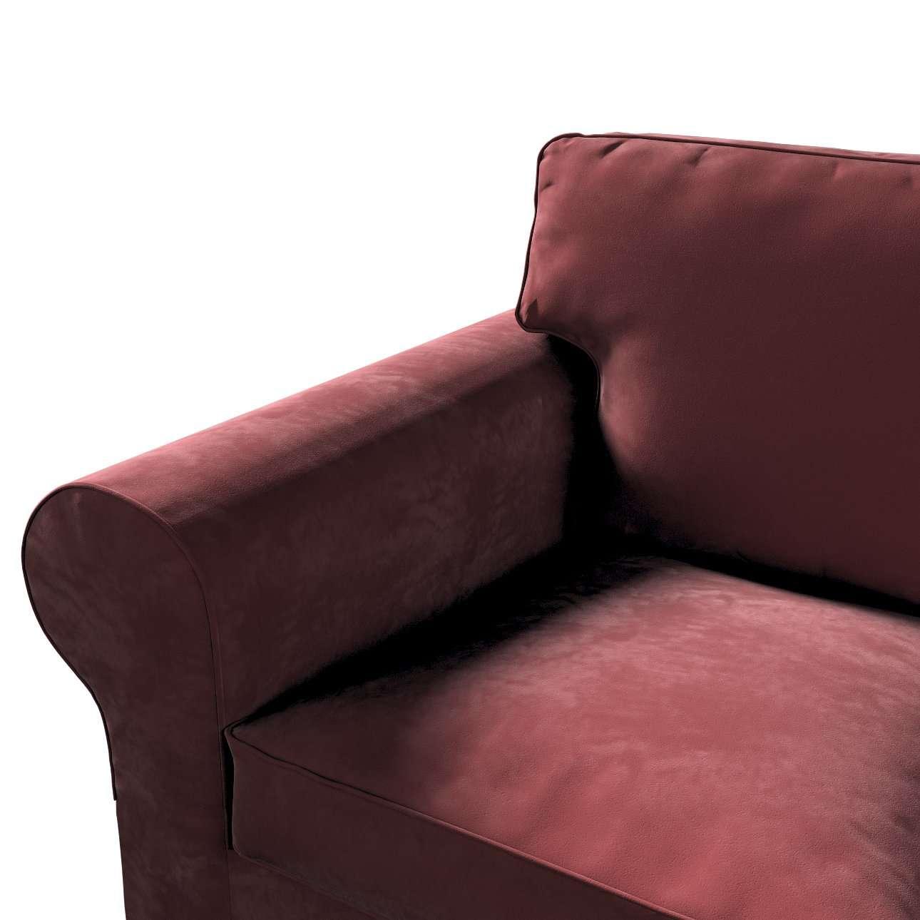 Pokrowiec na sofę Ektorp 2-osobową rozkładaną, model po 2012 w kolekcji Velvet, tkanina: 704-26