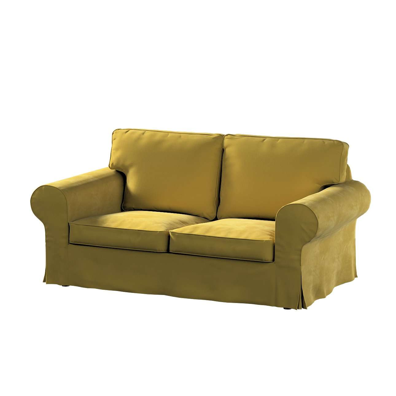 Pokrowiec na sofę Ektorp 2-osobową rozkładaną, model po 2012 w kolekcji Velvet, tkanina: 704-27