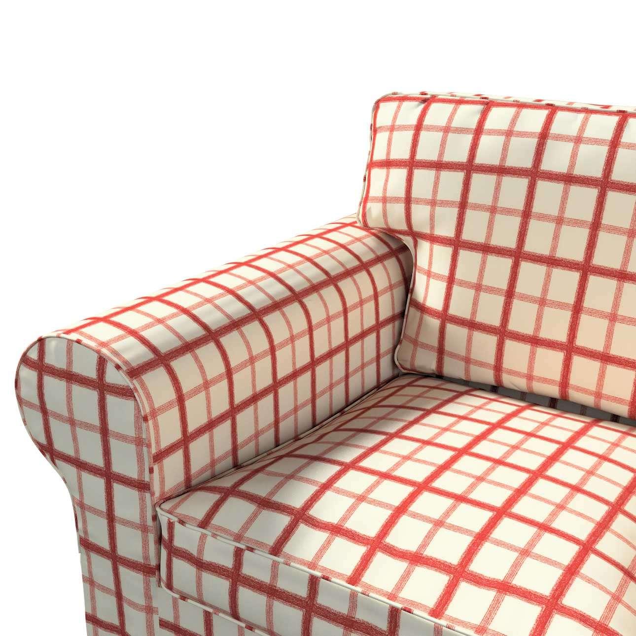 Pokrowiec na sofę Ektorp 2-osobową rozkładana NOWY MODEL 2012 w kolekcji Avinon, tkanina: 131-15