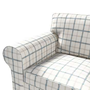 Ektorp 2 sæder sovesofa fra 2012<br/>Bredde ca 200cm Betræk uden sofa fra kollektionen Avinon, Stof: 131-66