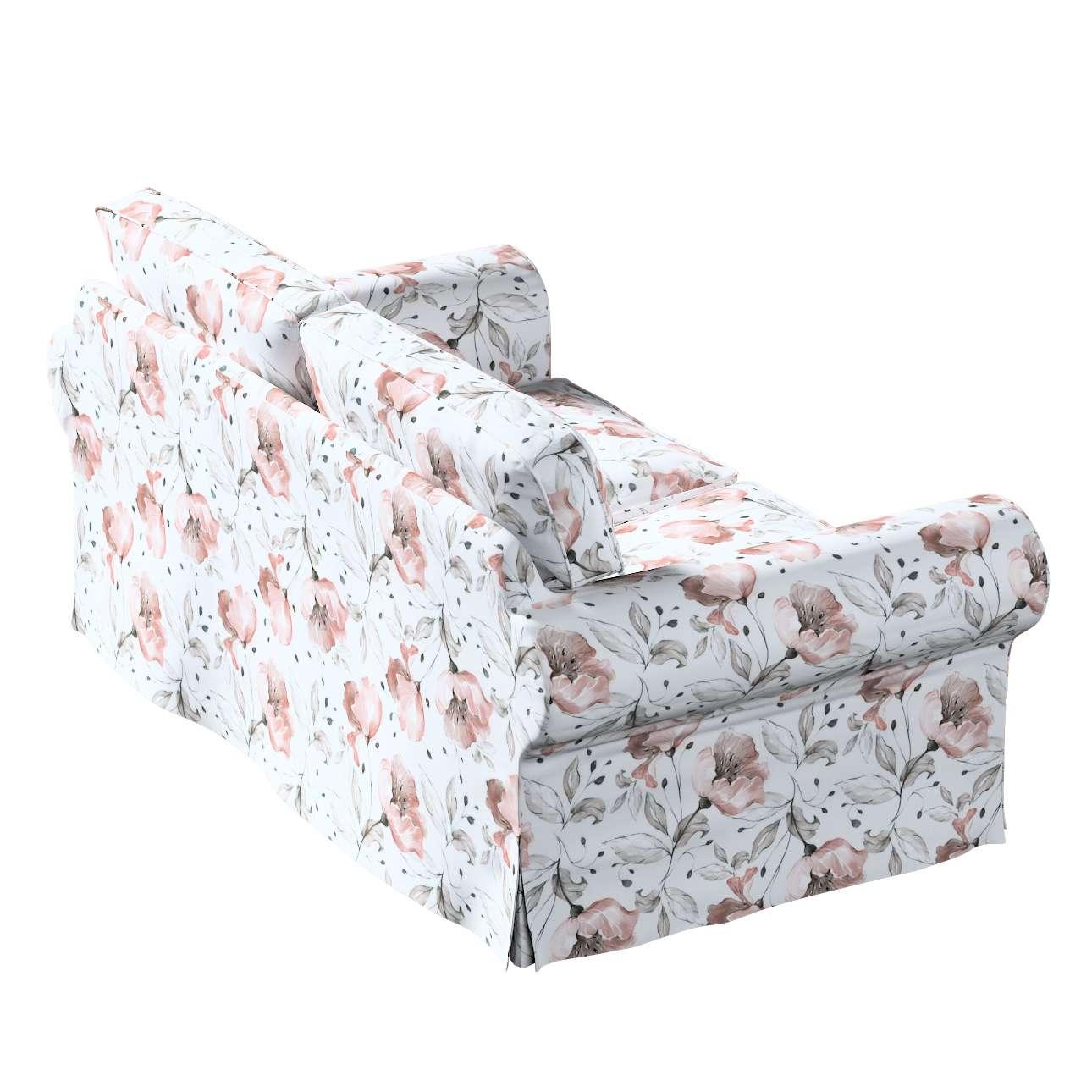Pokrowiec na sofę Ektorp 2-osobową rozkładaną, model po 2012 w kolekcji Velvet, tkanina: 704-50