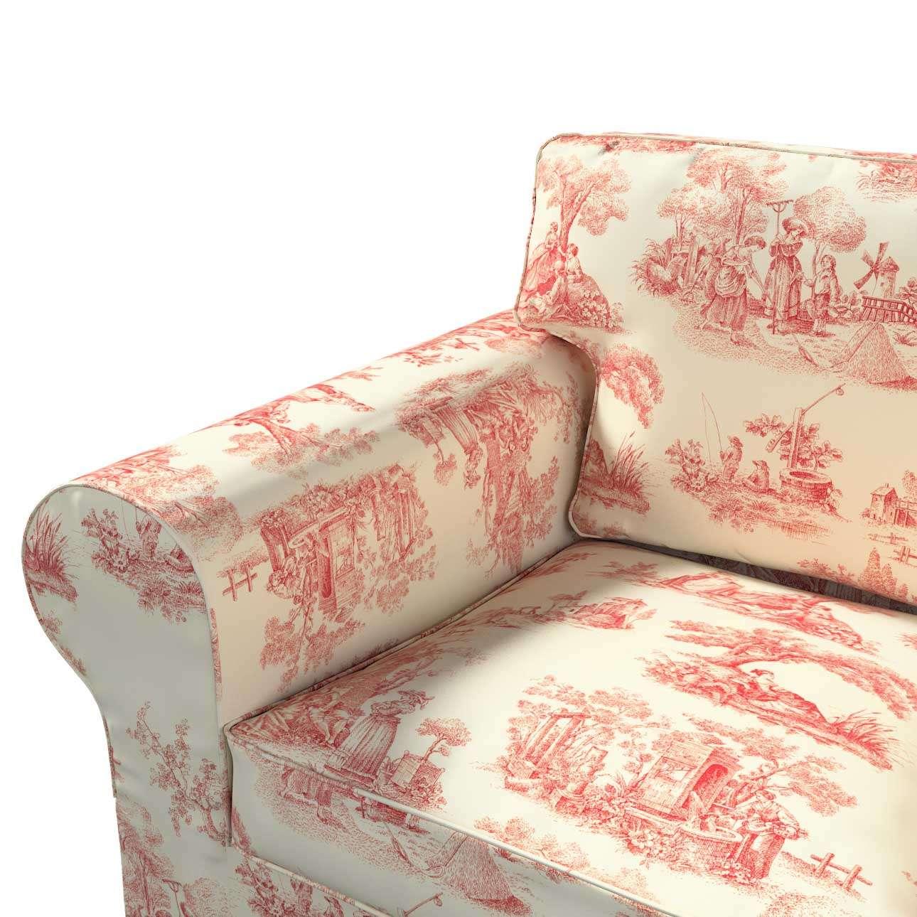 Pokrowiec na sofę Ektorp 2-osobową rozkładaną, model po 2012 w kolekcji Avinon, tkanina: 132-15