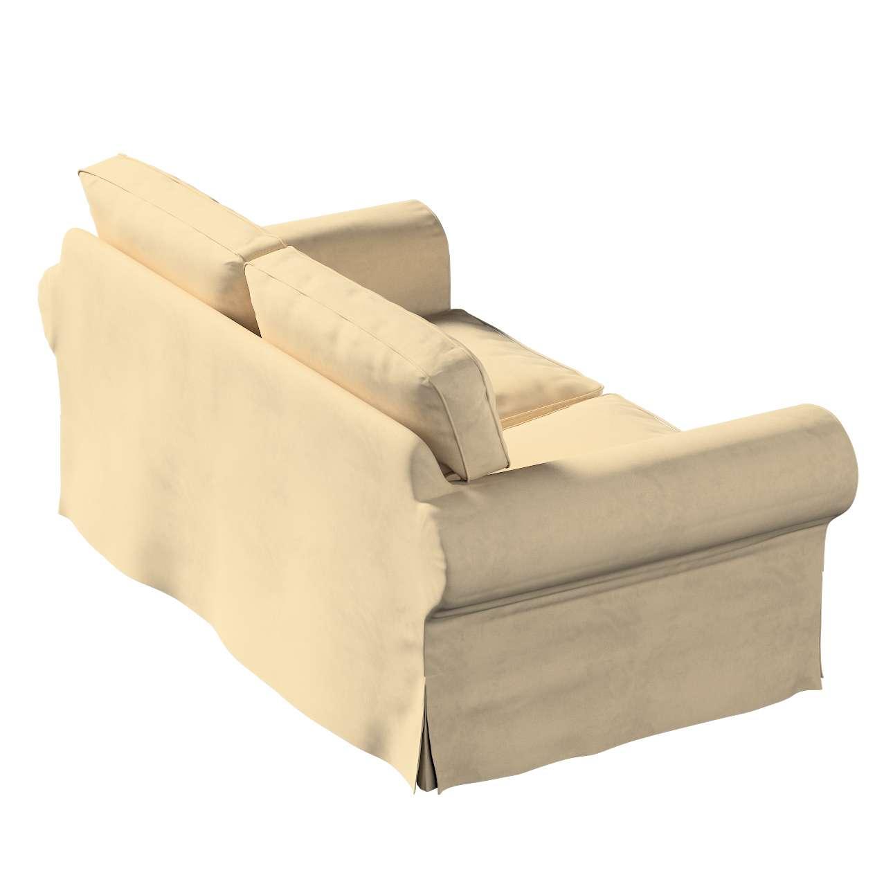 Pokrowiec na sofę Ektorp 2-osobową rozkładaną, model po 2012 w kolekcji Living, tkanina: 160-82
