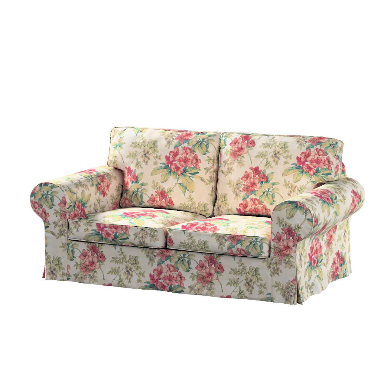 Pokrowiec na sofę Ektorp 2-osobową rozkładaną, model po 2012 w kolekcji Londres, tkanina: 143-40