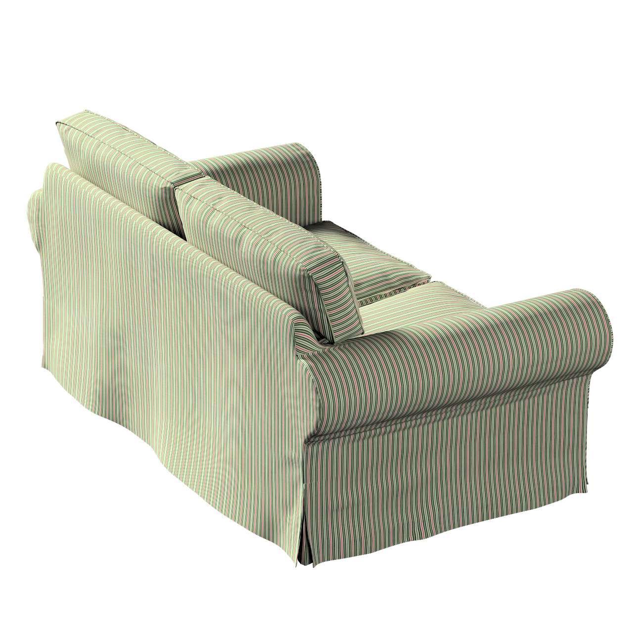 Pokrowiec na sofę Ektorp 2-osobową rozkładaną, model po 2012 w kolekcji Londres, tkanina: 143-42