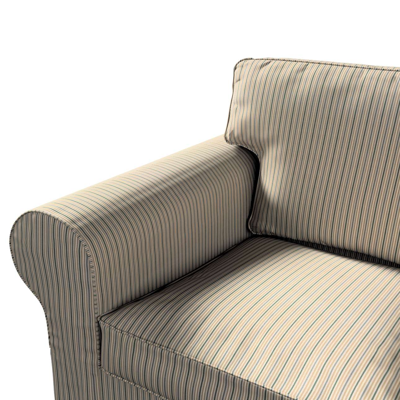 Pokrowiec na sofę Ektorp 2-osobową rozkładaną, model po 2012 w kolekcji Londres, tkanina: 143-38