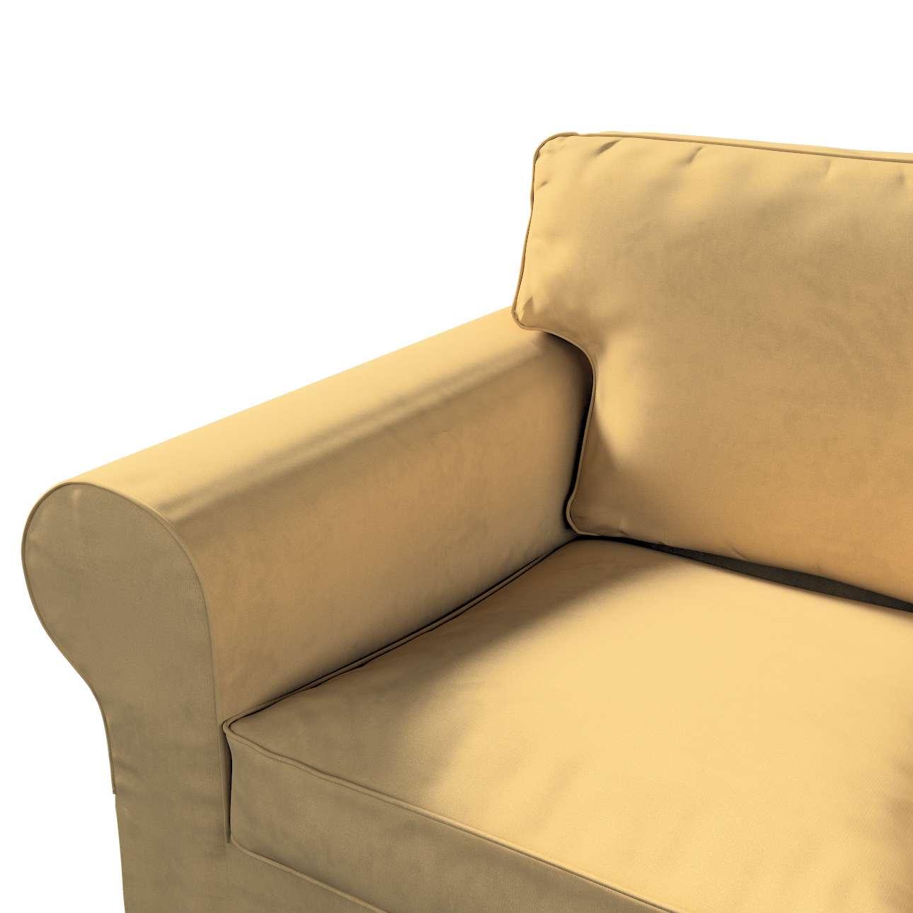 Pokrowiec na sofę Ektorp 2-osobową rozkładaną, model po 2012 w kolekcji Living, tkanina: 160-93