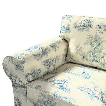 Pokrowiec na sofę Ektorp 2-osobową rozkładana NOWY MODEL 2012 w kolekcji Avinon, tkanina: 132-66