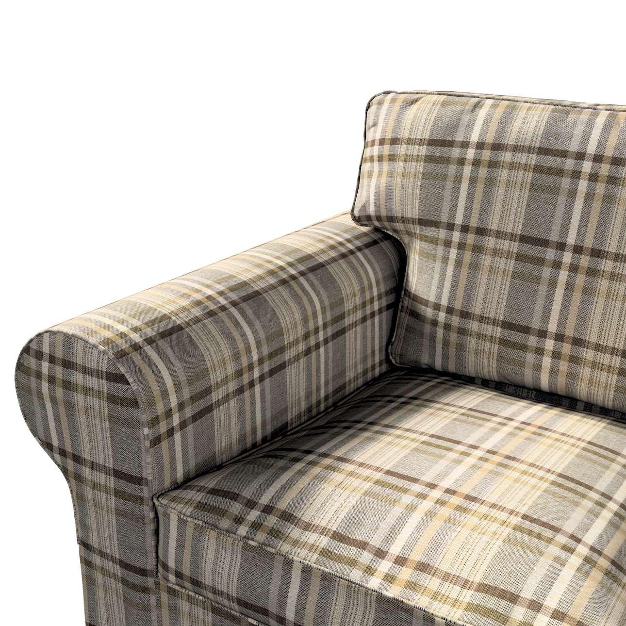 Pokrowiec na sofę Ektorp 2-osobową rozkładaną, model po 2012 w kolekcji Edinburgh, tkanina: 703-17