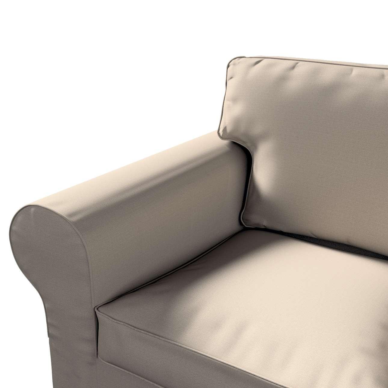 Pokrowiec na sofę Ektorp 2-osobową rozkładaną, model po 2012 w kolekcji Living, tkanina: 161-53